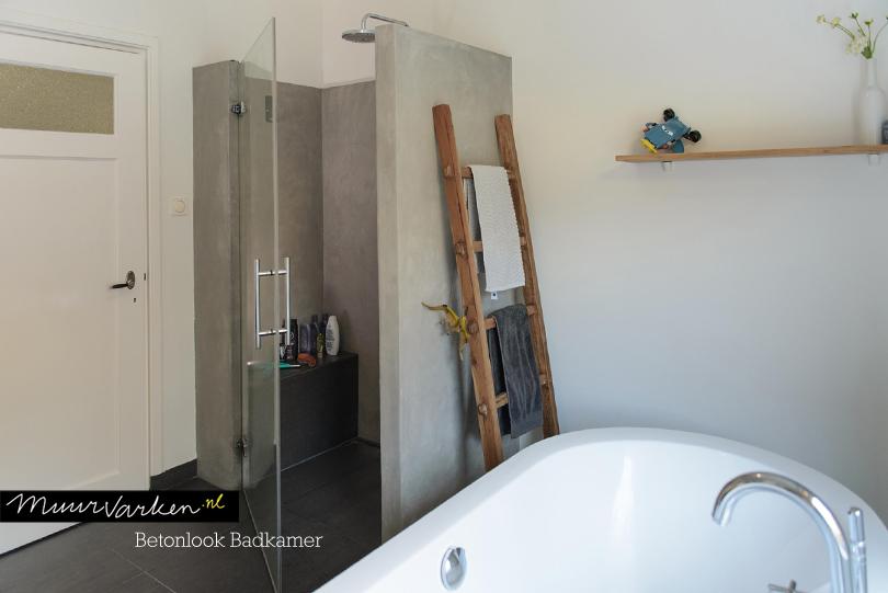 Betonlook Badkamer Maken : Stukadoor tilburg betonlook interieurstyling vtwonen